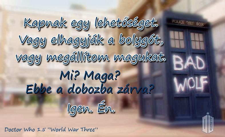 Új Doctor Who 1.4 és 1.5