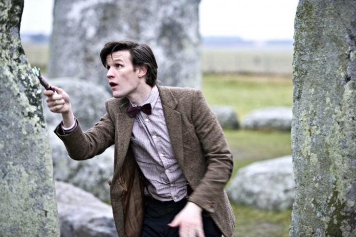 A 11. Doctor Stonehenge-t vizsgálja (The Pandorica Opens)