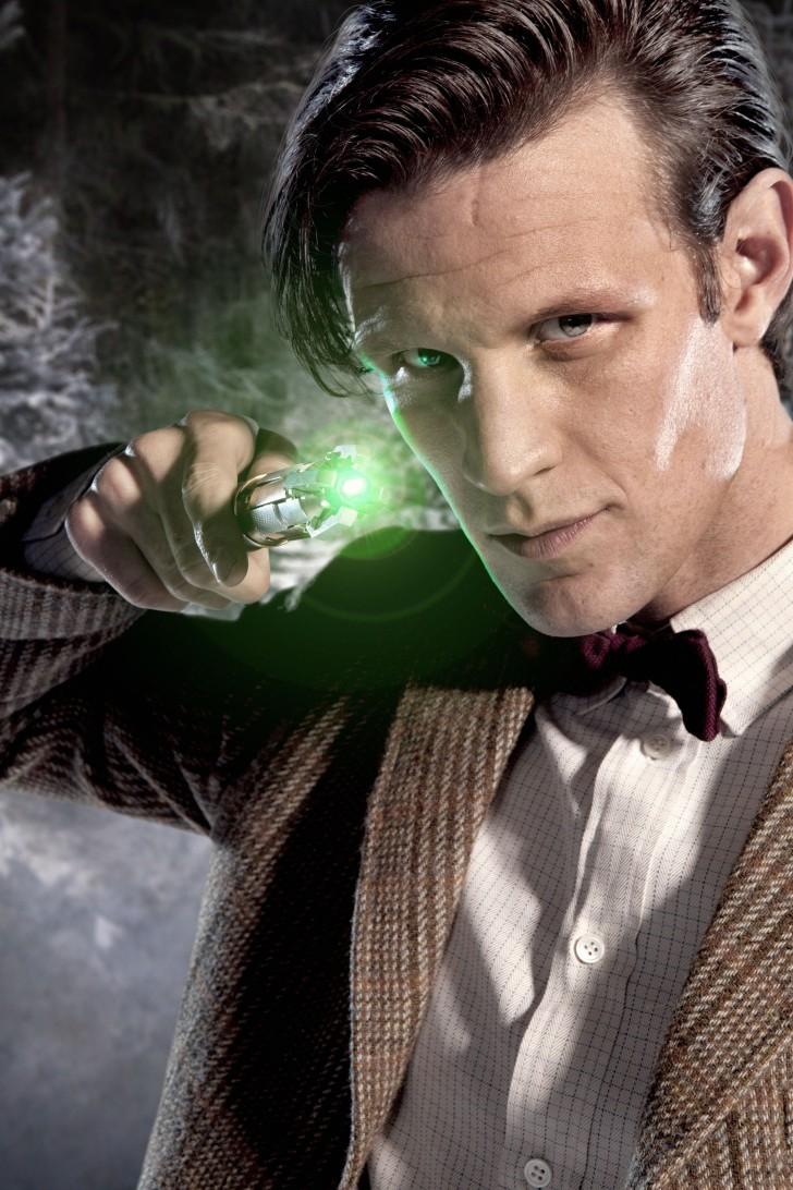 A 11. Doctor zölden izzó szónikus csavarhúzója