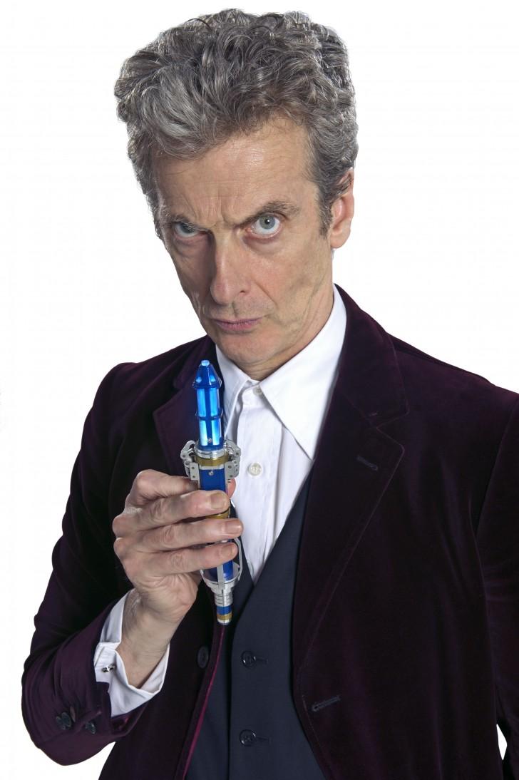 A 12. Doctor élénk kék szónikus csavarhúzója