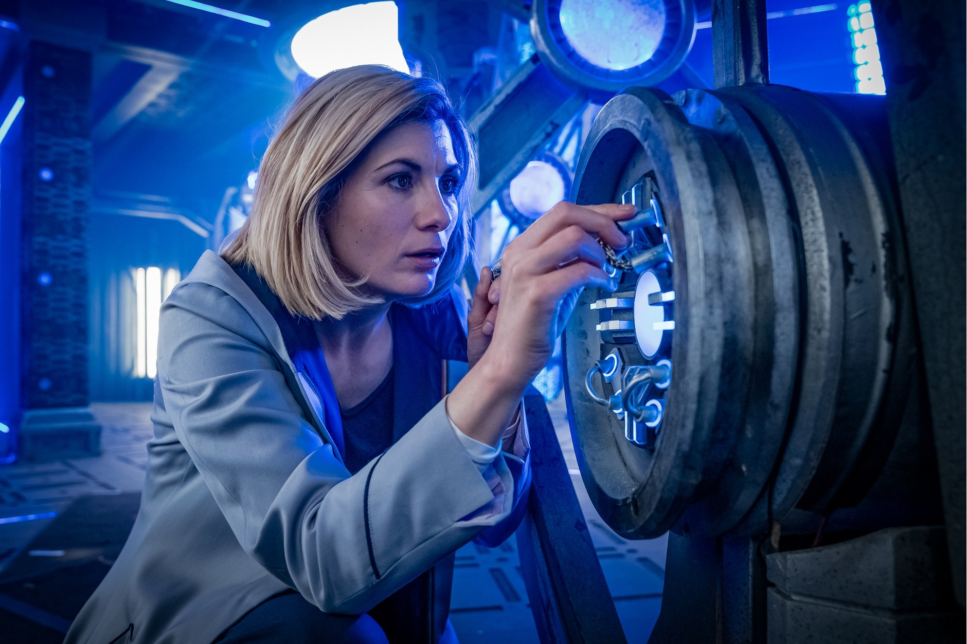 WARNING: Embargoed for publication until 20:00:01 on 18/02/2020 - Programme Name: Doctor Who Series 12 - TX: 23/02/2020 - Episode: n/a (No. 9) - Picture Shows: UK EXCLSUIVE OPTION The Doctor (JODIE WHITTAKER) - (C) BBC - Photographer: Ben Blackall