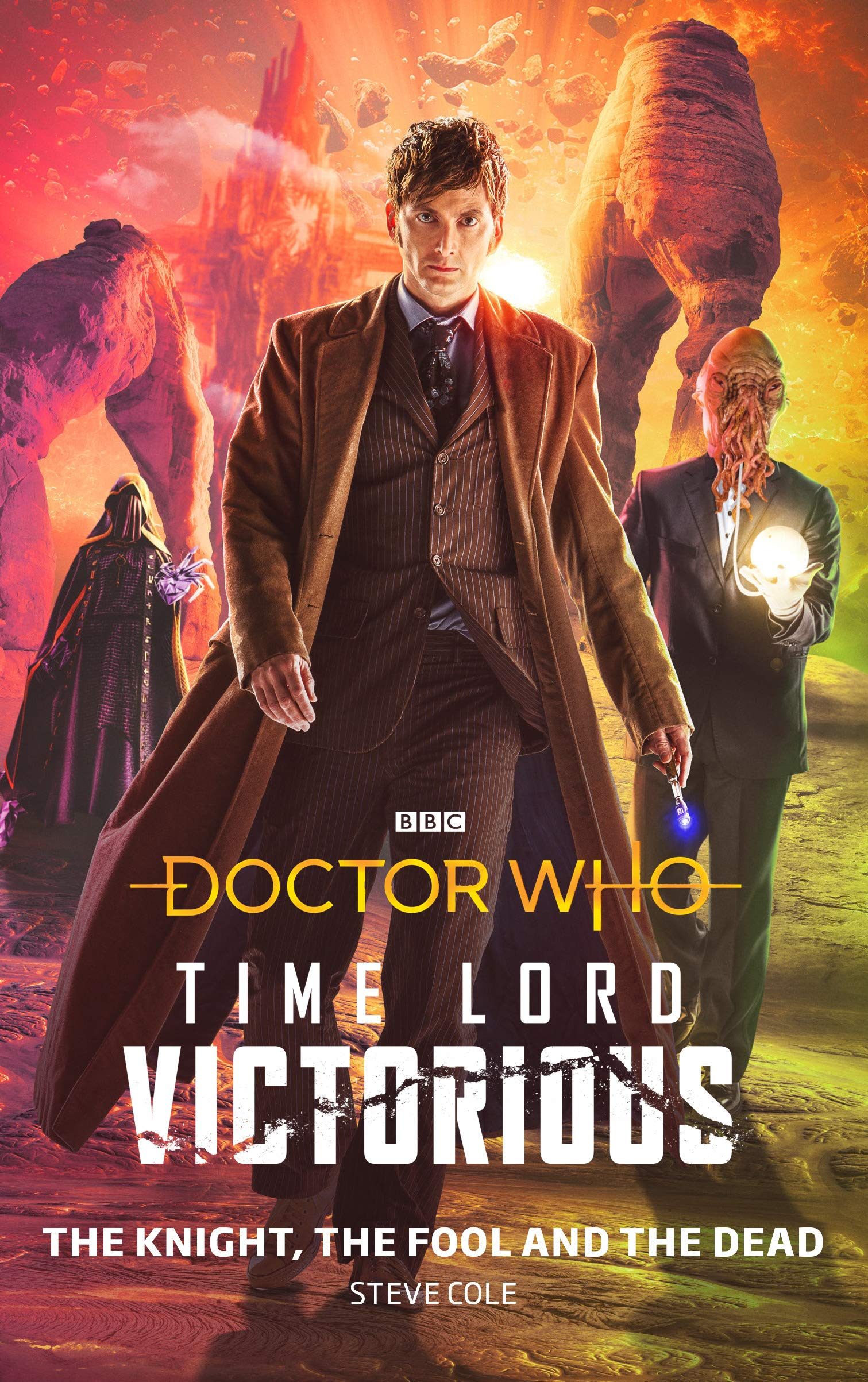 doctor who time lord victorious the knight the fool and the dead borító