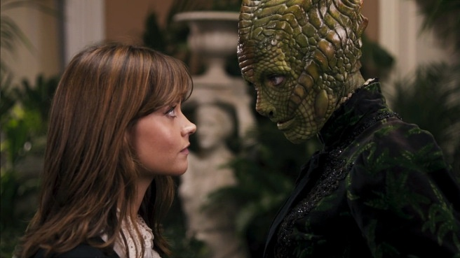 doctor-who-review-deep-breath-clara-oswald-jenna-coleman-madame-vastra-neve-mcintosh-silurian-paternoster-row-steven-moffat