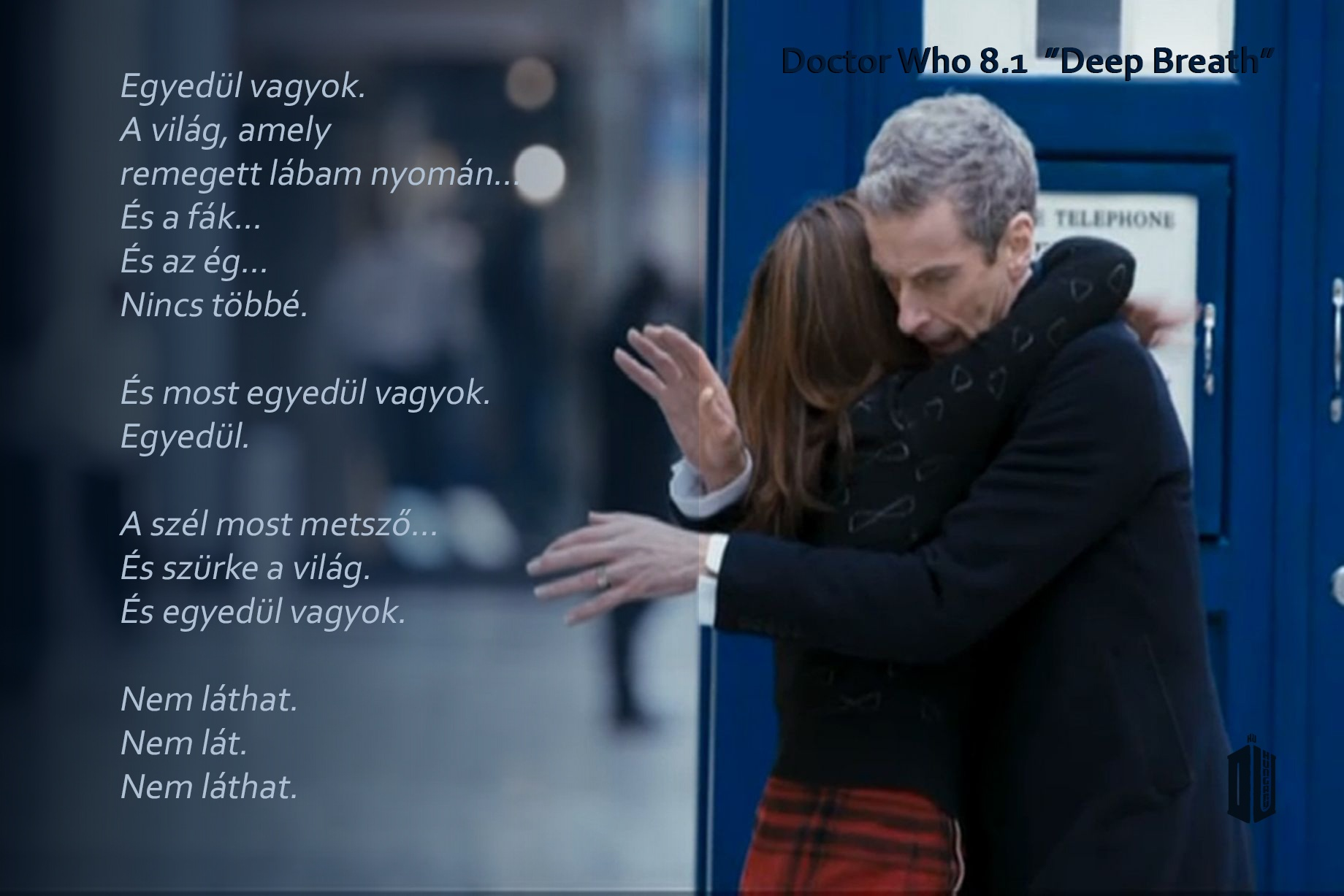 Új Doctor Who 8.1